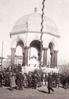 Alman Çeşmesinin açılış töreni / 1901 http://ift.tt/2b767MH