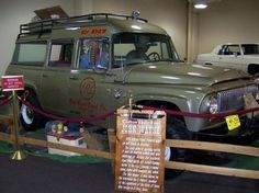 John Wayne's War Wagon- IH Travelall heads to auction