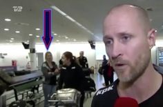 Woman vanishing at airport goes viral!