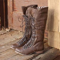 Upper County Boots, Rugged Lace Up Boots from Spool No.72. | Spool No.72
