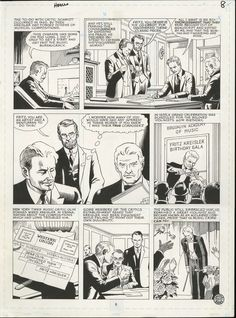 Original art by Russ Heath for the Big Book of Hoaxes, 1996.