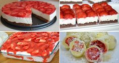 Kinder mliečny rez – rýchly a výborný koláčik bez múky! Clean Eating Recipes, Raw Food Recipes, Sweet Recipes, Dessert Recipes, Cooking Recipes, Czech Recipes, Russian Recipes, Party Food Platters, Banana Split
