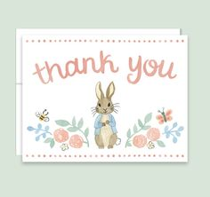 Peter Rabbit Bring A Book Card  Rabbit Book Request Card Beatrix