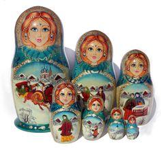 russian matryoshka dolls to paint | fotolia_1148651_XS.jpg