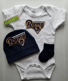 cca5f2ad6fb La Rams baby outfit los angeles rams baby shower gift la rams newborn los  angeles rams take home la rams newborn la rams baby rams baby boy