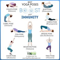 10 Best Yoga Poses to Boost Your Immunity Yoga For Colds, Yoga Fitness, Yoga Quotidien, Restorative Yoga Poses, Cool Yoga Poses, Fish Pose Yoga, Learn Yoga, Relaxing Yoga, Yoga Positions