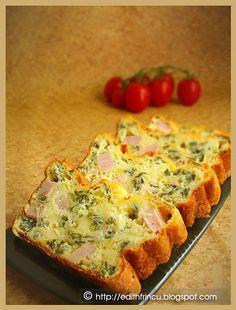 APERITIV CU VERDEATA- Un chec aperitiv rapid, cu muulta ceapa verde si foarte bun. Este potrivit la orice petrecere sau ca mic dejun si de ce nu, ca pachetel la servici.    -