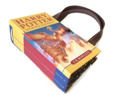 Book Purse Harry Potter Order of Phoenix Book by retrograndma, $49.99