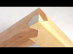 Joints en bois complexes Lien avec la puissance de la géométrie - Digg