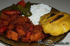 Tochitura moldoveneasca Tandoori Chicken, Orice, Mai, Ethnic Recipes, Food Ideas