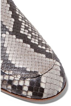 Gianvito Rossi - Python Slippers - Snake print - IT36.5