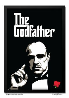 Poster The Godfather - QUADRO EMOLDURADO