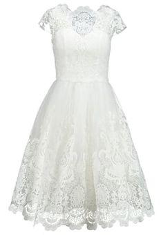 Pedir Chi Chi London Vestido de cóctel - white por 79,95 € (12/04/16) en Zalando.es, con gastos de envío gratuitos.