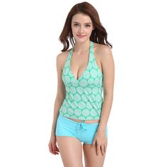 0367c45386a51 2018 new split swimsuit female boxers conservative swimsuit large size was  thin cover belly bubble hot