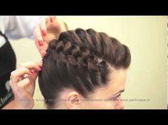 Деловая прическа. Stylish haircut. parikmaxer.tv парикмахер тв