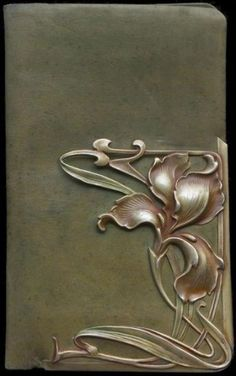 ART NOUVEAU Iris Wallet by susie. Love this!!!