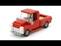 LEGO Pickup Truck . MOC Building Instructions - YouTube