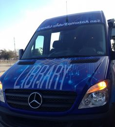 San Antonio Public Library Unveils Brand New Library Learning Van for Children and Teens
