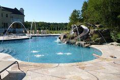 beautiful backyards with pools | Backyard Pool Design