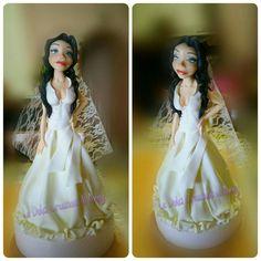 Sposa in pasta di zucchero... #sposainpdz #saracinomodel 🔝🔝