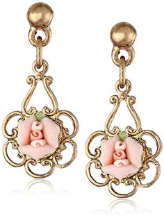 1928 Jewelry Porcelain Rose Gold and Pink Drop Earrings 1928 Jewelry http://www.amazon.com/dp/B000UBUXM4/ref=cm_sw_r_pi_dp_p.48ub1HNXHXD