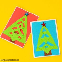 We have the most wonderful and simple (even though it does not look like) festive tree Christmas card idea to share with you. Follow our easy step by step tutorial and you will be making these in no time (and impressing the people receiving them). These are a great kid made cards, with a huge …