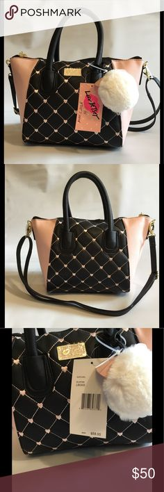 Betsey Johnson Satchel This cute satchel is so fun and sassy. Show off your girly side with this. Betsey Johnson Bags Satchels