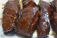 easy crock pot ribs