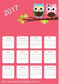 Calendário para 2017