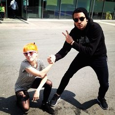 Hayley Williams and Taylor york