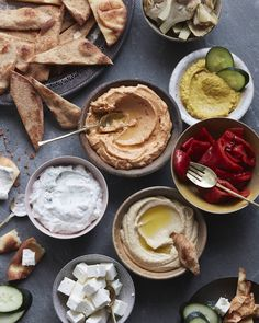 Hummus Bar with Naan