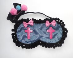 Creepy n Cute Style Sleepmask Day of the by OptimImperaLingerie