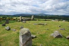 Tomnavarnie stone circle hike. Aberdeenshire, Scotland.