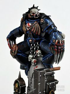 toycutter: Warhammer 40K: Night Lords Primarch
