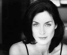 Carrie-Anne Moss, voice of Aria T'Loak from Mass Effect.