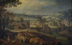 Jan Brueghel the Elder : Landscape with village (Museo del Prado) 1568-1625 ヤン・ブリューゲル (父)