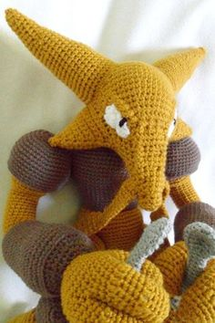pokemon crochet patterns | Amazingly Detailed Pokémon Crochet Plushies | McGeeks