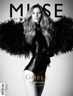 #4 Cover - Een prachtige, statige cover van Giselle. Niet veel tekst maar het straalt gelijk sfeer uit en je kunt hier aan zien wat voor soort tijdschrift het is.
