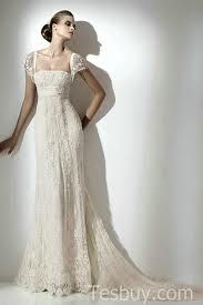 Empire waist wedding dress....the sleves and sheer over sheer