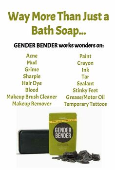 Message me to try Gender Bender, or visit www.ginnystout.po.sh