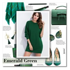 """Emerald City: Pops of Green"" by smajlovicelvira ❤ liked on Polyvore featuring Sam Edelman, Dolce&Gabbana, Hermès, Acqua di Parma, John Lewis and emeraldgreen"