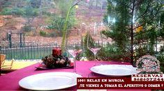 Se acabo el puente y las visitas de amig@s y familiares ¿ te apetece hoy descansar y comer en medio de la naturaleza de Murcia ? Ven a la Balsa Redonda del Valle , Reserva en el  968607244