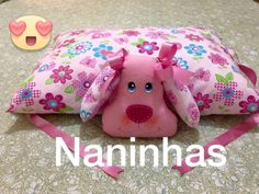travesseiro de bichinho (cachorrinho) Dog Cushions, Sewing Pillows, Circle Skirt Tutorial, Diy Tops, Felt Dogs, Patchwork Pillow, Cat Pillow, Sewing Tools, Baby Needs