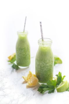 This vibrant green smoothie is full of fresh flavors and has plenty of protein to give you lasting energy.