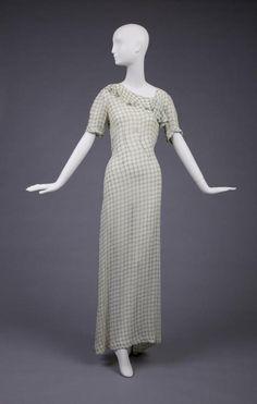 Dress     Elsa Schiaparelli, 1935     The Goldstein Museum of Design