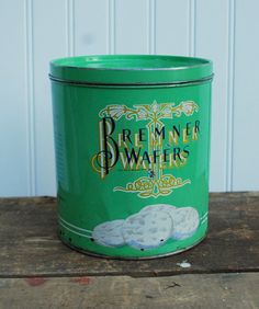 need to start my vintage tin collection for my kitchen, I want to put them on top of the cupboards