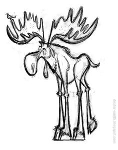Dexter Smith: Search results for moose Moose Pictures, Art Pictures, Moose Decor, Moose Art, Animal Drawings, Art Drawings, Moose Tattoo, Funny Moose, Moose Silhouette
