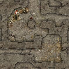 Heroic Maps - Geomorphs: Cavern Lairs - Cavern Lairs Cavern Lairs is a printable dungeon floorplan compatible with any RPG/Dungeon-Crawl game. Virtual Tabletop, Tabletop Rpg, Dungeon Tiles, Dungeon Maps, Fantasy Map, Medieval Fantasy, Map Old, Old Dragon, Dungeons And Dragons 5e