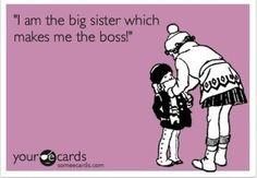 Sisterly love! :)