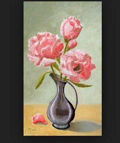 Ik heb dit schilderij gekozen omdat ik het een erg mooi schilderij vond, en ik de bloemen die er in zitten mooi vind, en er komen ook bloemen terug in het kunstwerk.